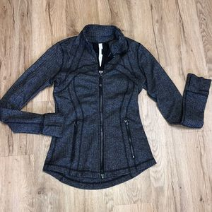 Lululemon Athletica Knit Work out jacket EUC Sz 6